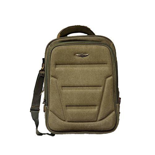 Travellers Laptop And School Backpack Bag Brown