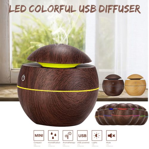 Intelligent LED Ultrasonic Essential Oil Aroma Diffuser Air Humidifier Purifier
