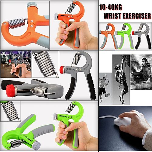 Adjustable Hand Muscle Developer Grip Wrist Power Exerciser Grippers 10-40kg