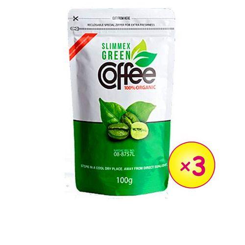 Green Coffee Beans - 100g X 3Pcs