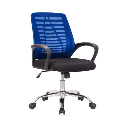 Office Executive Recline Chair - Blue