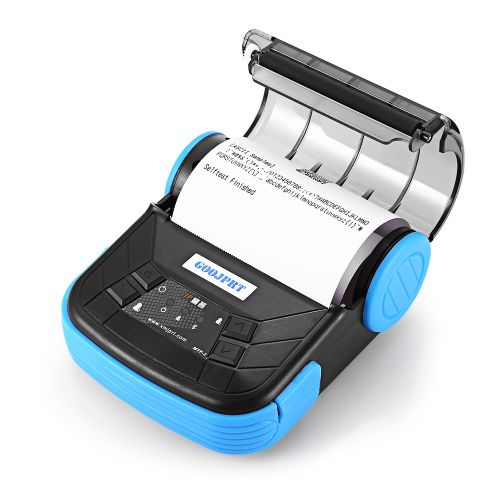 POS Receipt Thermal Printer 80mm With Bluetooth 2.0 Android EU - Blue