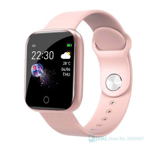 Smart Watch Fitness Tracker Watch-Pink