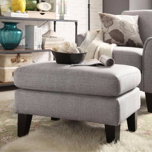 Handys - Uptown Modern Ottoman - Grey (Delivery Within Lagos Only)