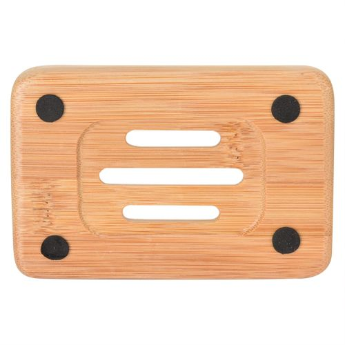 Natural Bamboo Wood Bathroom Shower Soap Tray Dish Storage Holder Plate