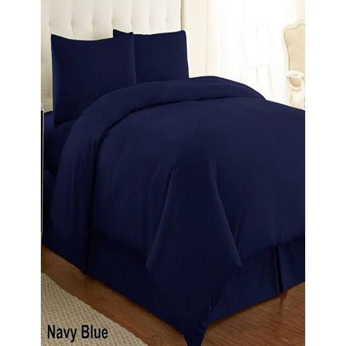 Duvet Cover, Bedsheet With Pillowcases-Blue