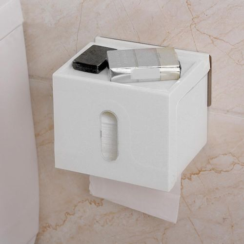 Container For Paper Dispenser With Rolls Of Wall-mounted Toilet Paper