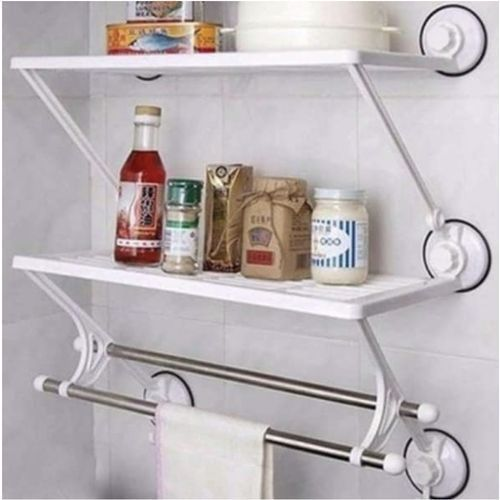 Double Layer & Rods Shelf