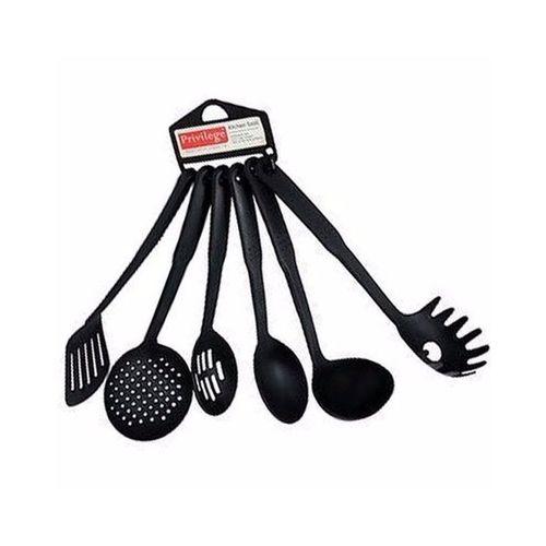 Non-stick Kitchen Spoons - 6pcs Set