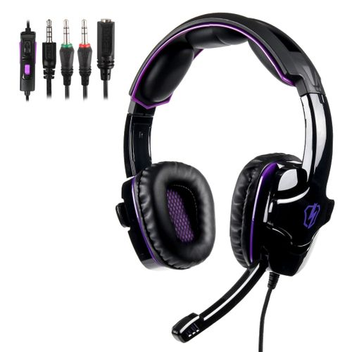 LETTON L8 3.5mm Wired Adjustable Gaming Headphone