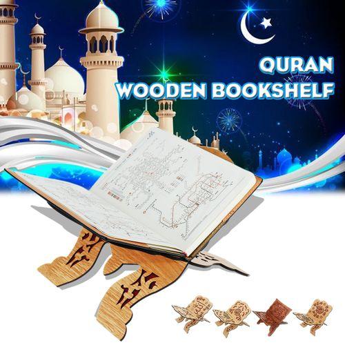 Islamic Muslim Quran Koran Book Holder Stand For Home Decorative