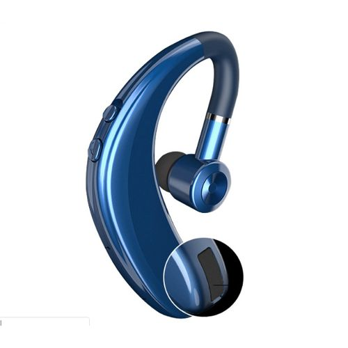 S109 Wireless Bluetooth Headphone Sport Earphone Stereo Headset Handsfree Calling For All Cell Phone - Blue