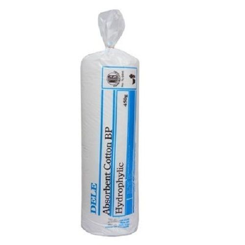 Absorbent Cotton Wool - 450g 25 Rools In A Bag