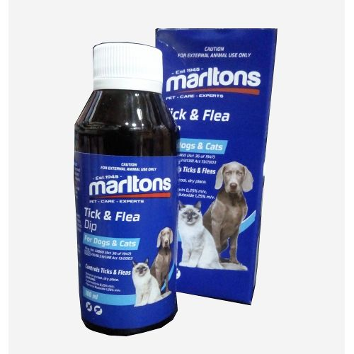 Tick And Flea Dip For Dogs And Cats