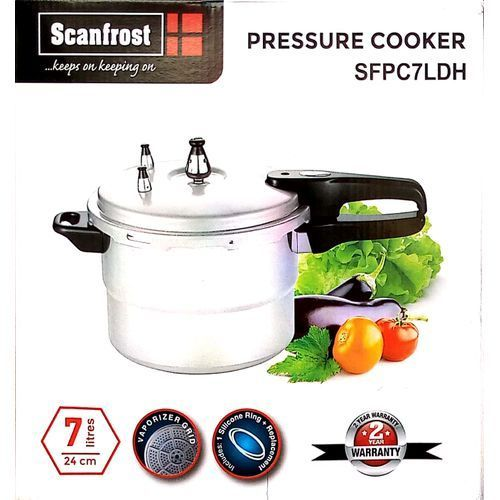 7 Litres Pressure Pot, Stainless Steel Body