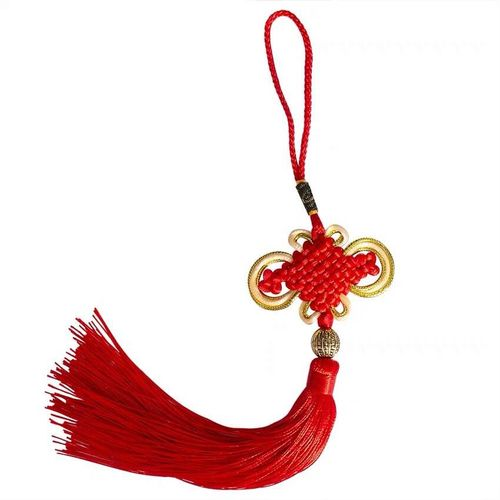 Handmade Chinese Knots Car Decoration Represents Safety