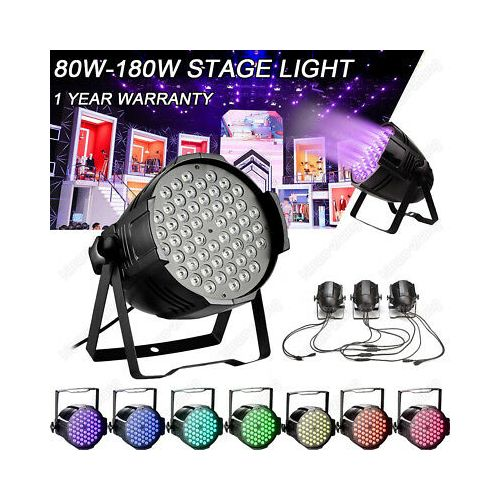 STAGE CLUB LIGHT 54×3 3IN1 180W FULL COLOR RGBW