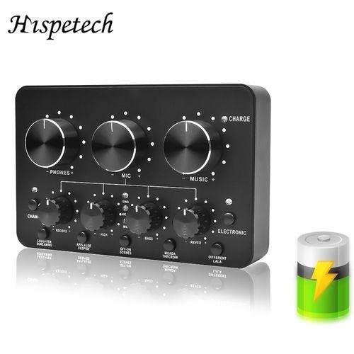 USB Sound Card Full Duplex Dynamic Microphone Plug And Play