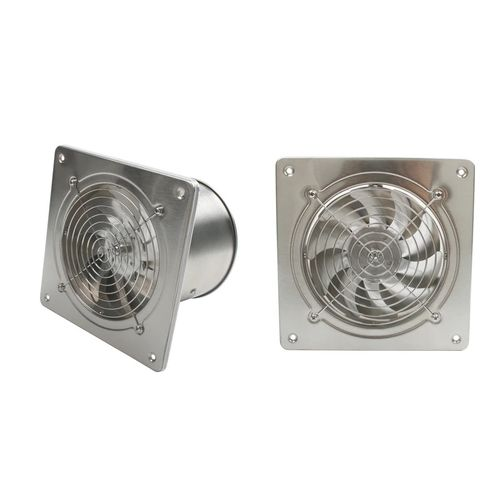 """WALL MOUNT EXHAUST/EXTRACTOR FAN ( Stainless Steel Type) 6"""""""