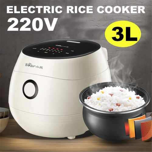 3L 500W Electric Rice Soup Cooker Heat Preservation 220V Kitchen Warmer Machine