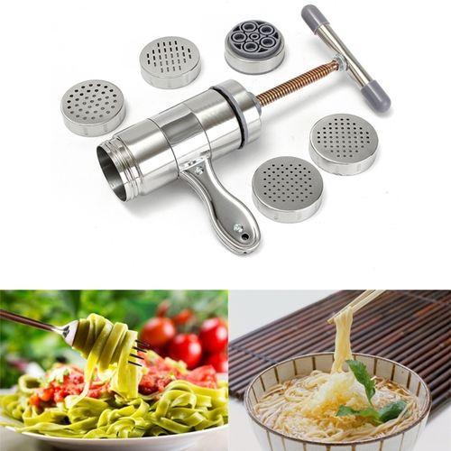 Stainless Steel Pasta Noodle Maker Fruit Juicer Press Spaghetti Manual Machine