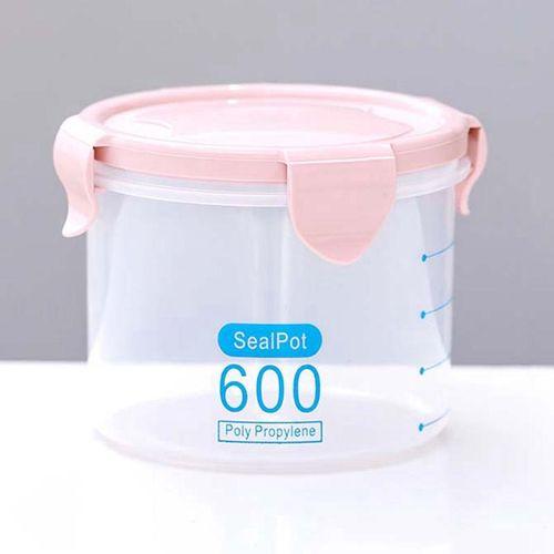 Eleganya Kitchen Dedicated Food Preservation Transparent Sealed Storage Jar