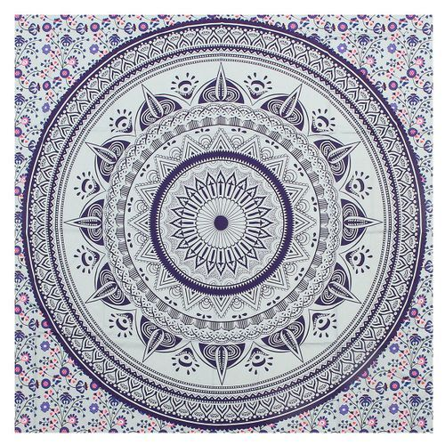 Indian Mandala Tapestry Hippie Wall Hanging Bohemian Bedspread Dorm Decor