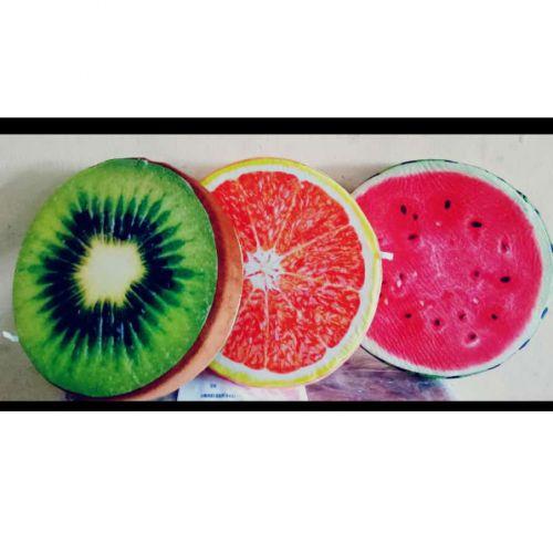 Fruits Design Throw Pillow-MULTICOLOR
