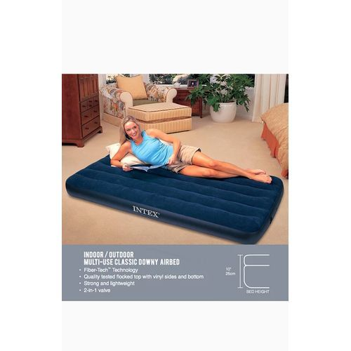 SINGLE PERSON INFLATABLE DURA-BEAM AIRBEDS FREE Pump
