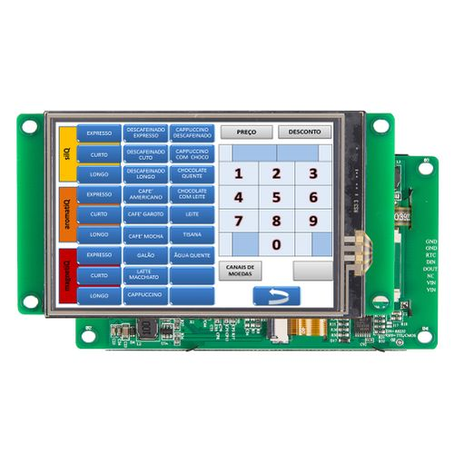 "3.5"" TFT LCD Panel With Serial Interface&Program"