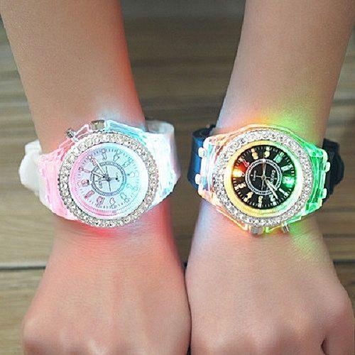 product_image_name-Geneva-2 Pieces Of Couple Luminous Led Wrist Watch-1