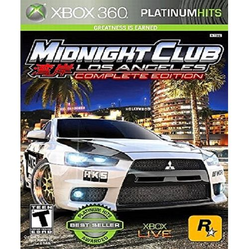 Midnight Club: Los Angeles Complete Edition Xbox 360