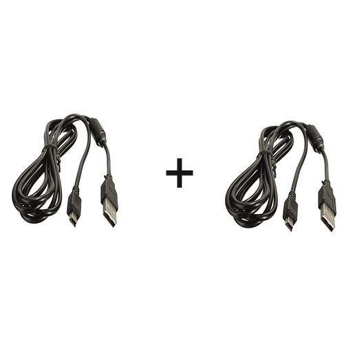 Sony PS3 Pad Charger Cord-2 Pieces