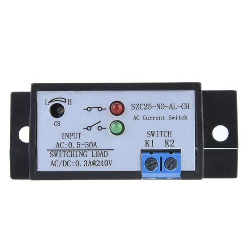 Liukouu SZC25-NO-AL-CH Alternating Current Detection Switch Normally Open AC 0.5-50A