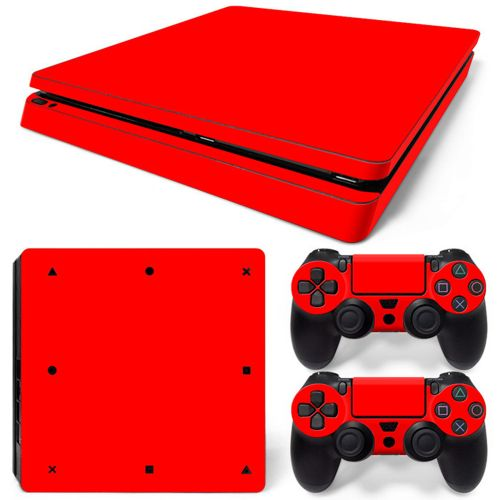 Skin Sticker For Sony PS4 SLIM Onsole Decal Cover Skin