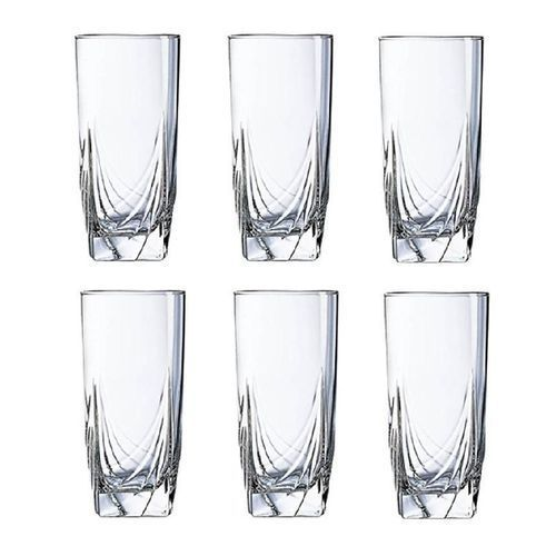 Glass Cup Set - 6 Pieces