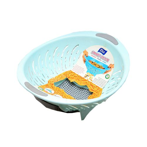 Smart Door Plastic Colander - Mint Green