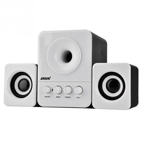 Full Range 3D Stereo Computer Speakers Subwoofer Portable