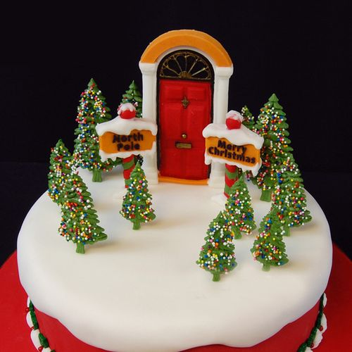 Silicone Christmas Tree Cake Fondant Mold Chocolate Cookies Mould