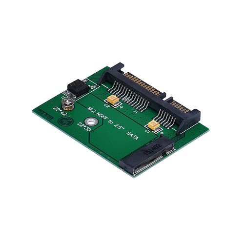 NGFF M.2 SSD Solid State Drive To 2.5Inch SATA Interface Adapter Converter-As Shown