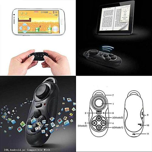 Bluetooth Game Pad Remote Controller For IOS Android Phone Tablet PC LBQ