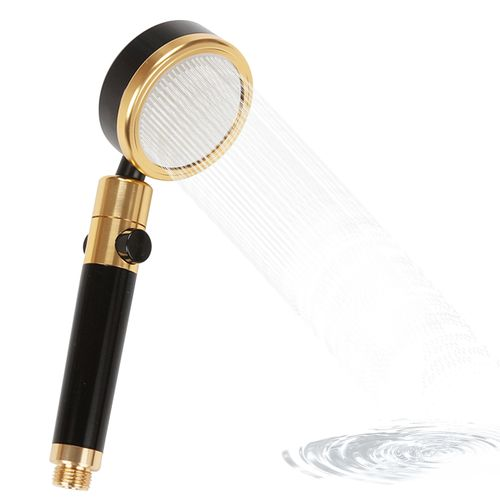 Rotatable Shower Head With ON/Off Pause Switch Water Saving