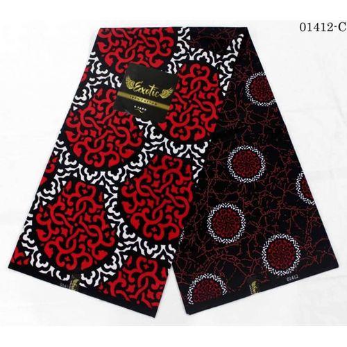 Flowery Ankara Fabric Material