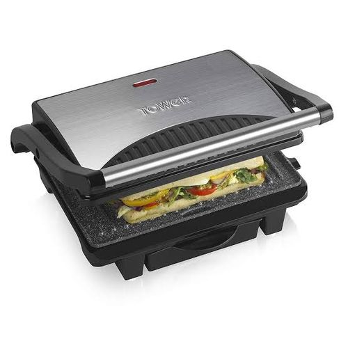 Electric Stainless Grill And Griddle Machine
