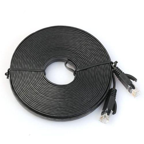 300cm Flat Cat6 Network Ethernet Patch Cable Modem Router RJ45 For LAN Network C