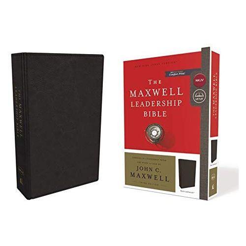 Maxwell Leadership Bible-Leather-NKJV