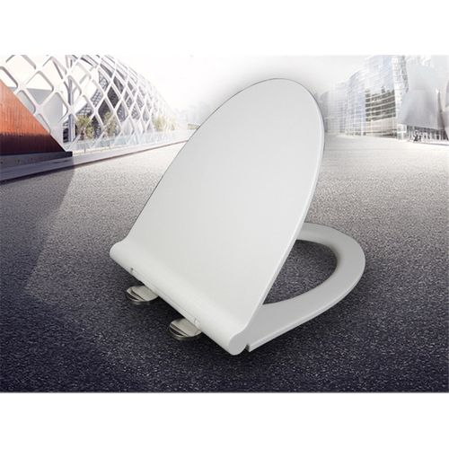 Home U/V Type Bathroom Toilet Seats Cover PP Board Universal Thickened Slow-Close Toilet Seats Lid WC Replacement Parts
