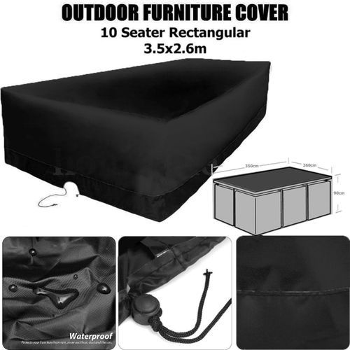 Waterproof Large Outdoor Air Conditional Cover Anti Dust Square Furniture UV Protection