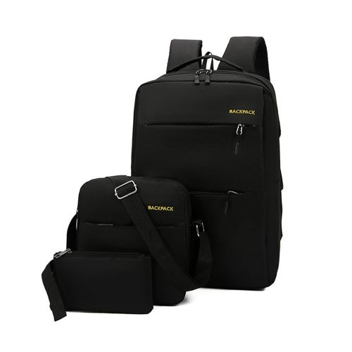 High Capacity Unisex 15.6 Inch Casual Backpack With USB Interface