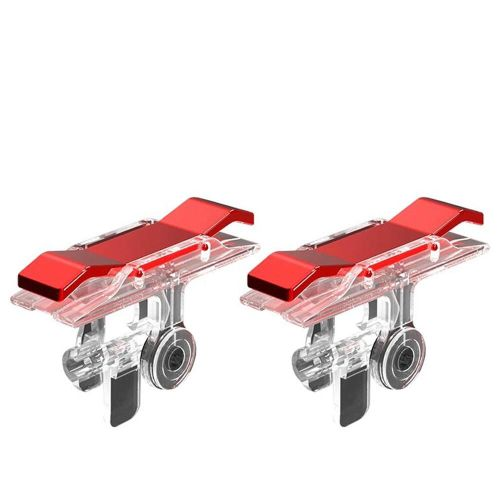 Mobile Phone Game Handle Fire Button Trigger Controller RED